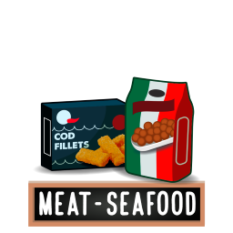Frozen Meat & Seafood