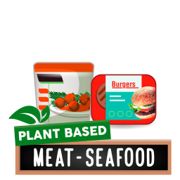 Frozen Plant Based Meat & Seafood